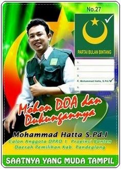 stiker-caleg-partai-bulan-bintang-mohammad-hatta